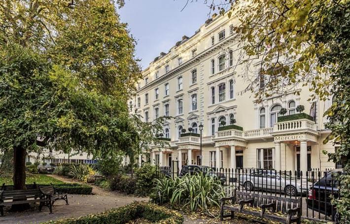 Mercure London Hyde Park Exterior